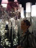 Mask chandelier